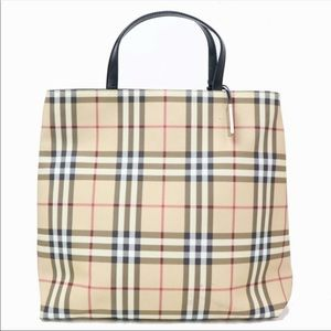 Authentic Burberry Tote